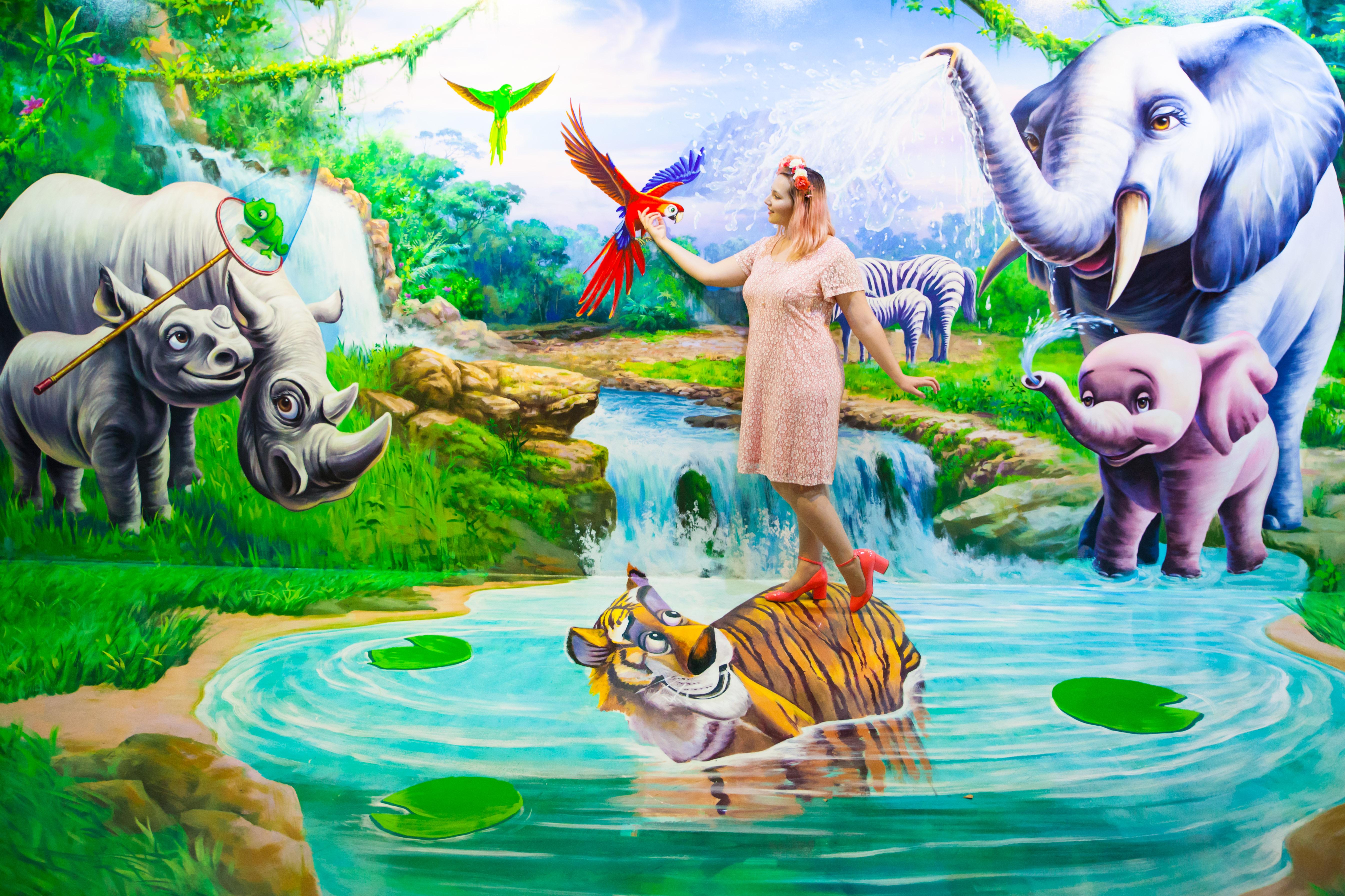 Fairy tale en jean et dentelle